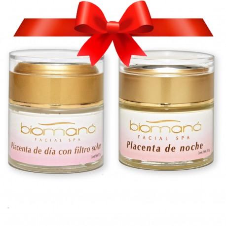 Dúo Placenta (crema día y noche)